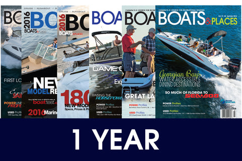 Boats&Places: Subscription (1YR)