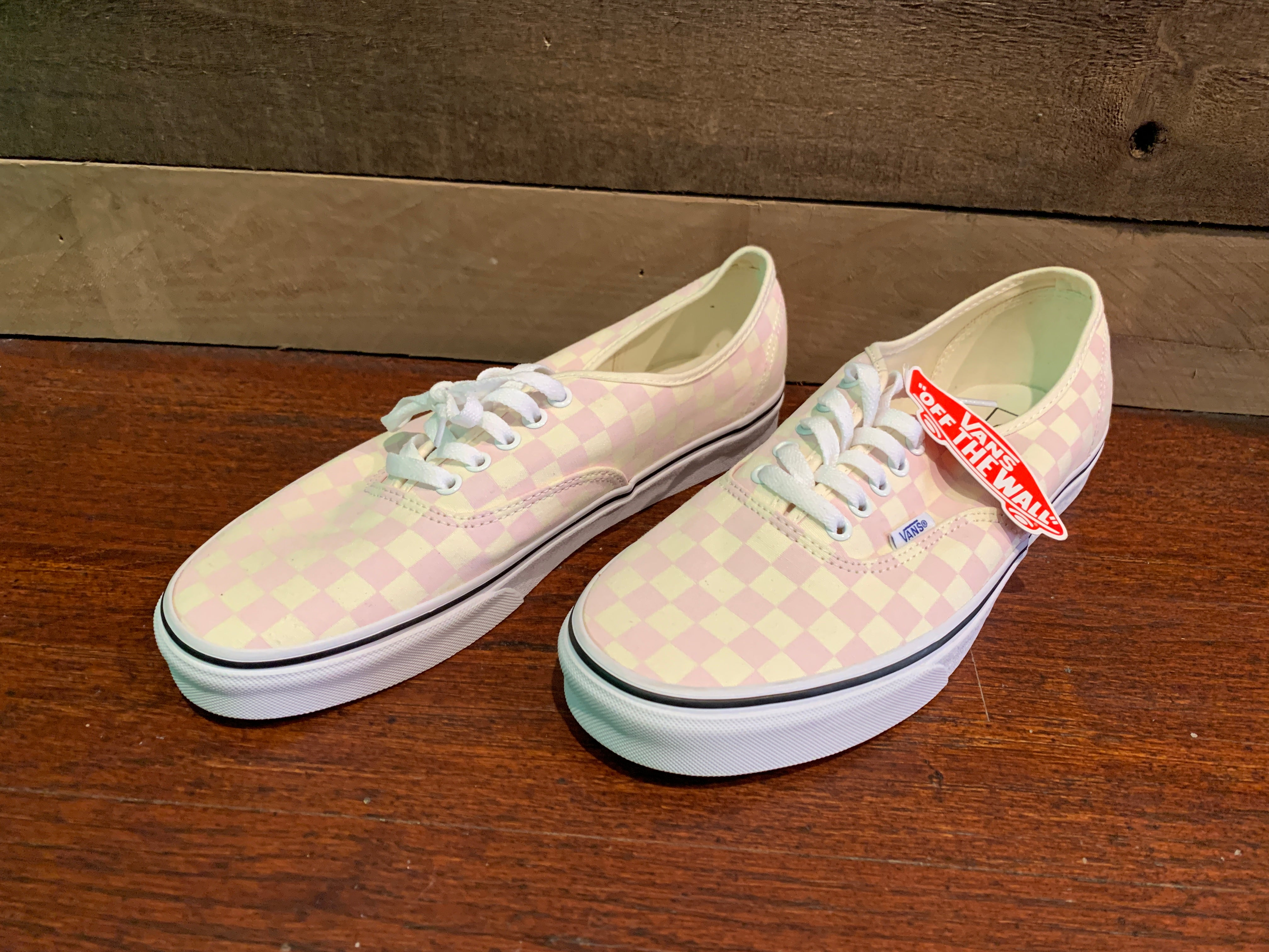 Vans Authentic Checkerboard Light Pink
