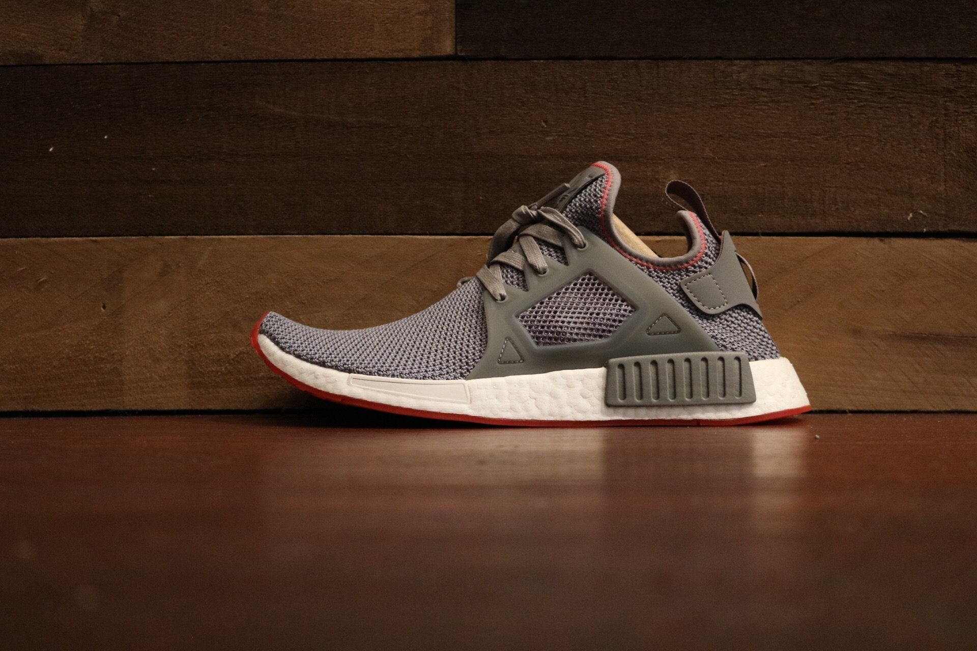 170299e1f Adidas NMD XR1 Grey Three Solar Red