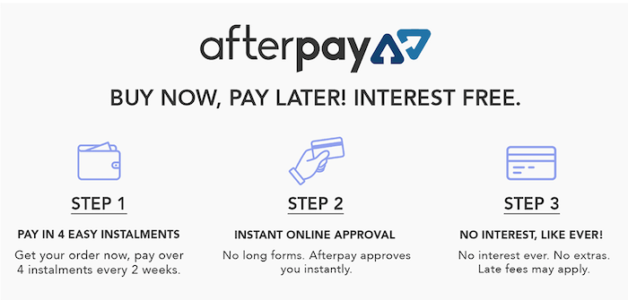 Afterpay Dog Products