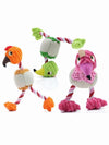 Funky Bird Rope Dog Toy