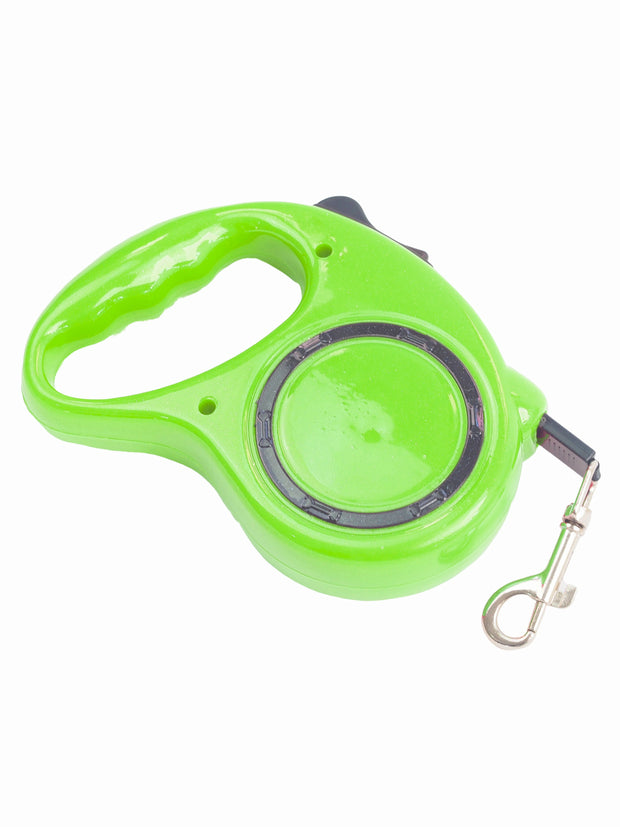 Easy to use nylon retractable dog lead and leash