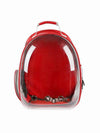 Red BubbleBag Dog Carrier Backpack