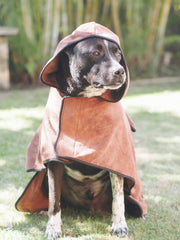 Hooded Dog Bathrobe Towel