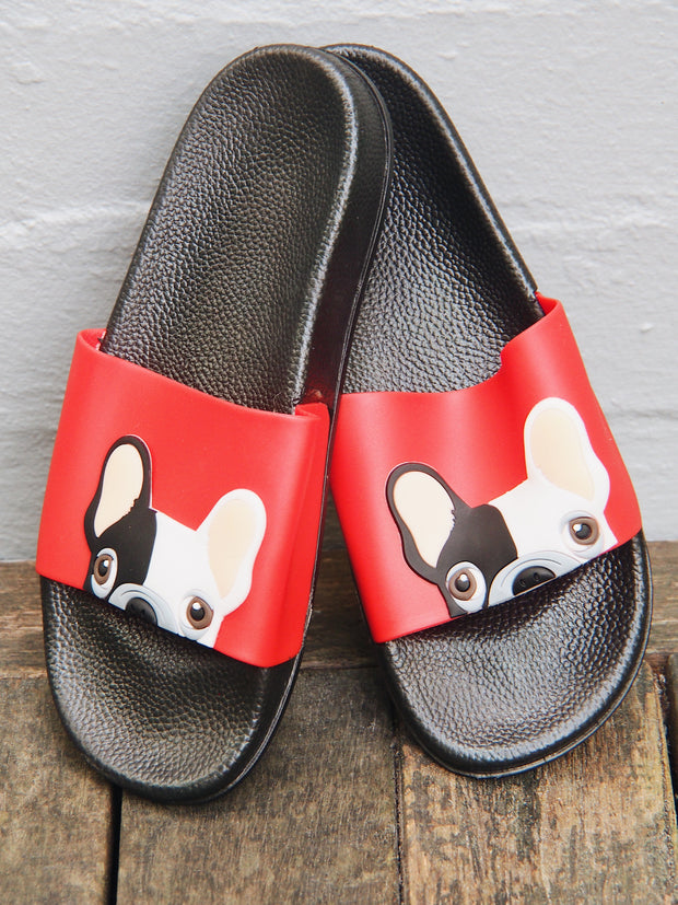 Boston Terrier Dog Lovers Slip Ons