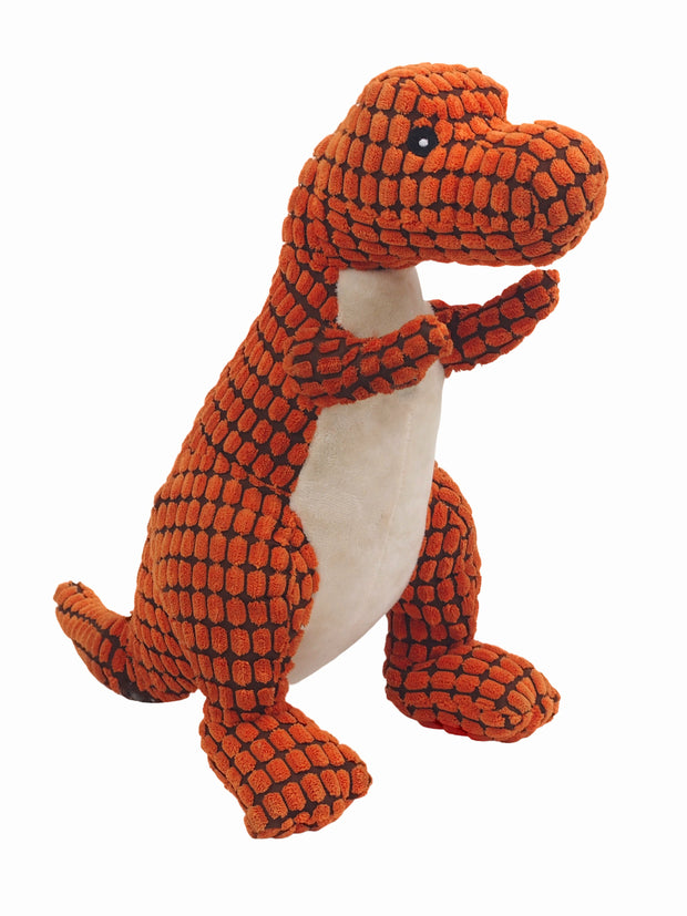 T-Rex Dino Plush Dog Toy