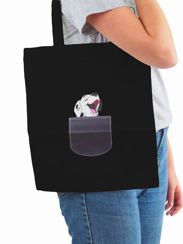 Affordable online dog lovers gifts canvas tote bag