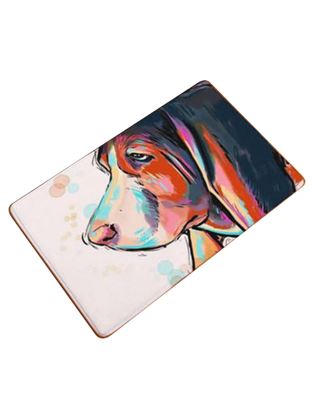 Bassat hound cool dog lovers mat