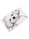Cute poodle PVC welcome mat or bed