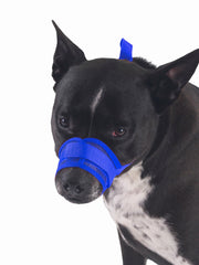 Adjustable mesh velcro dog muzzle