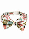 berry bush dog bow tie