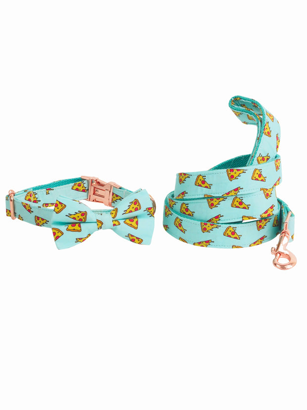 Affordable online dog bow tie and lead set