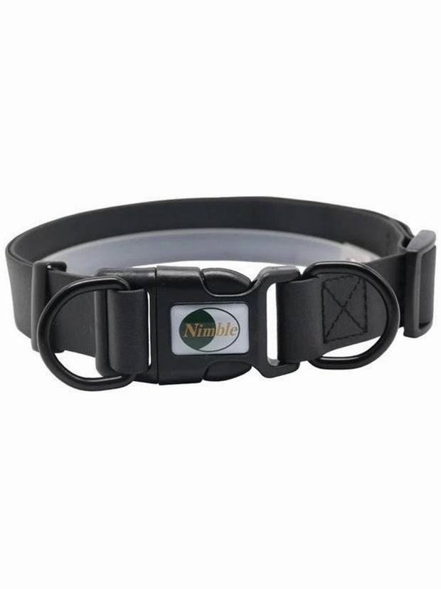 black online dog collar