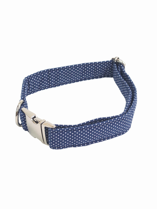 Quality Polka dot dog collar