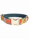 bohemian lux dog collar