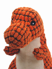 Affordable online large plush dinosaur dog toy