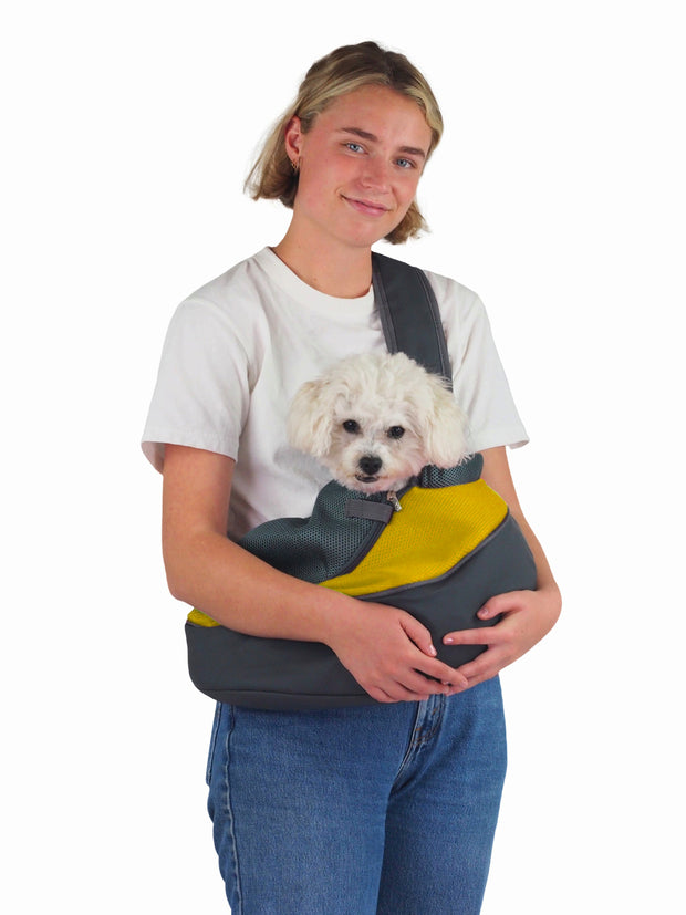 breathable mesh carry bag for small dogs