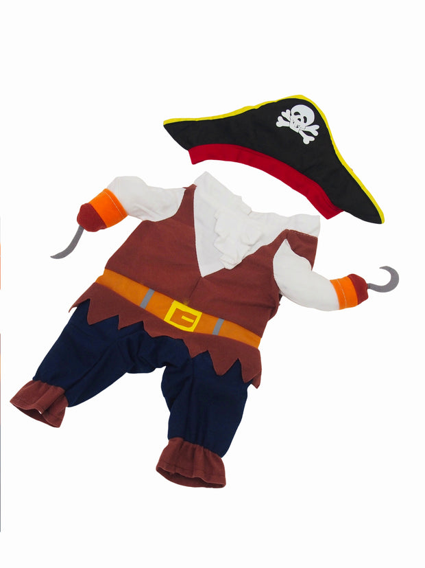 Affordable online dog halloween pirate costume
