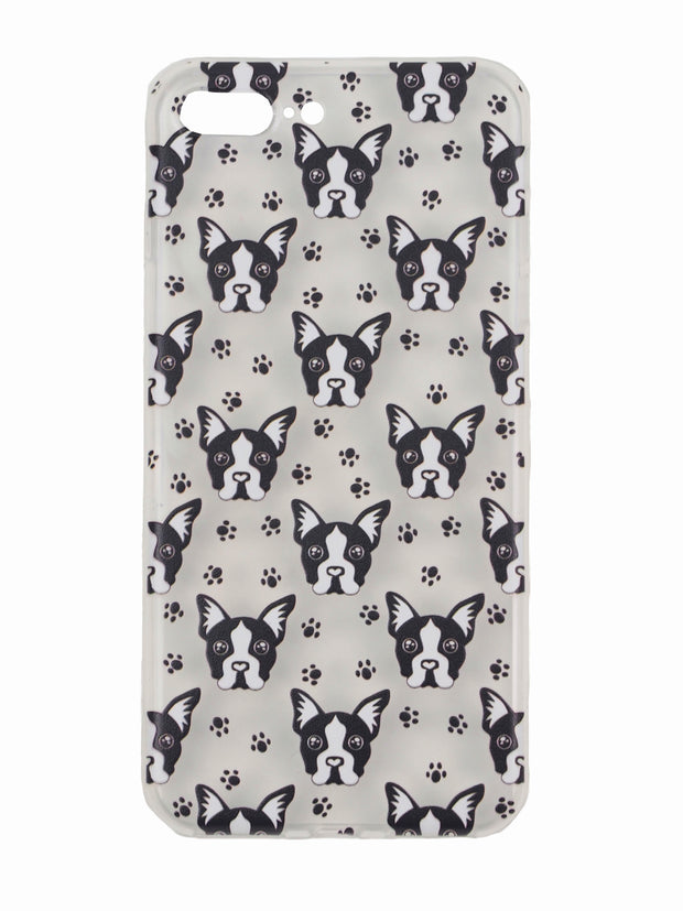 Soft TPU iphone case for dog lovers