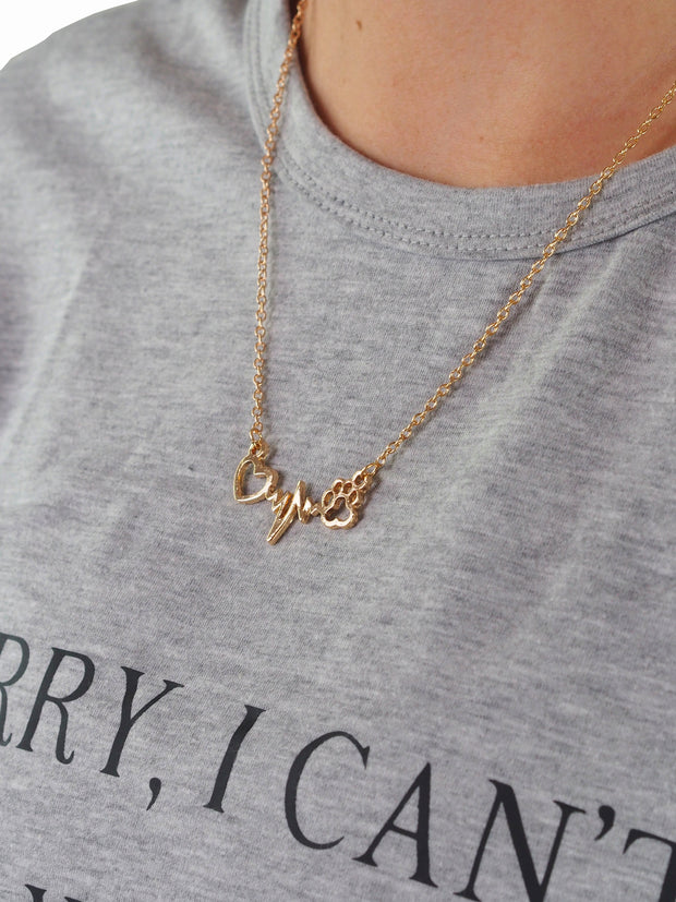 Dog Lovers Connection Necklace