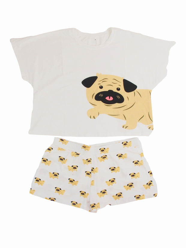 Affordable online dog lovers gifts womens pyjama set