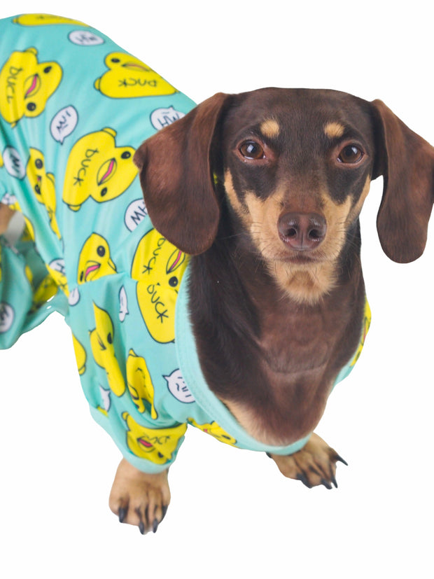 Cute cosy dog pyjama pj onesie