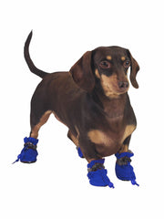 Affordable online dog paw protectors in blue