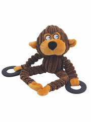 Affordable online plush monkey dog toy