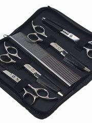 Professional dog grooming set