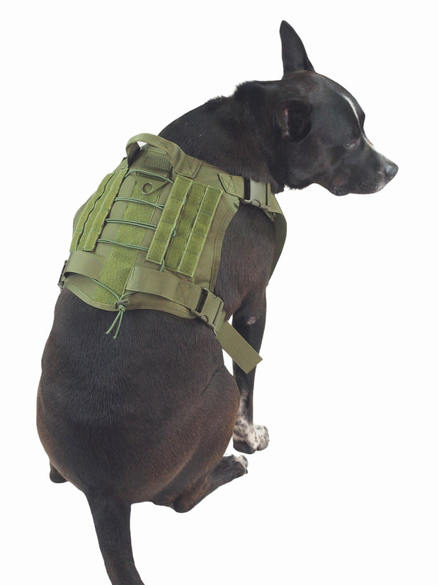 Tactical Military Service Dog Harness