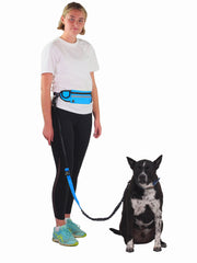 Adjustable water resistant hands free dog lead