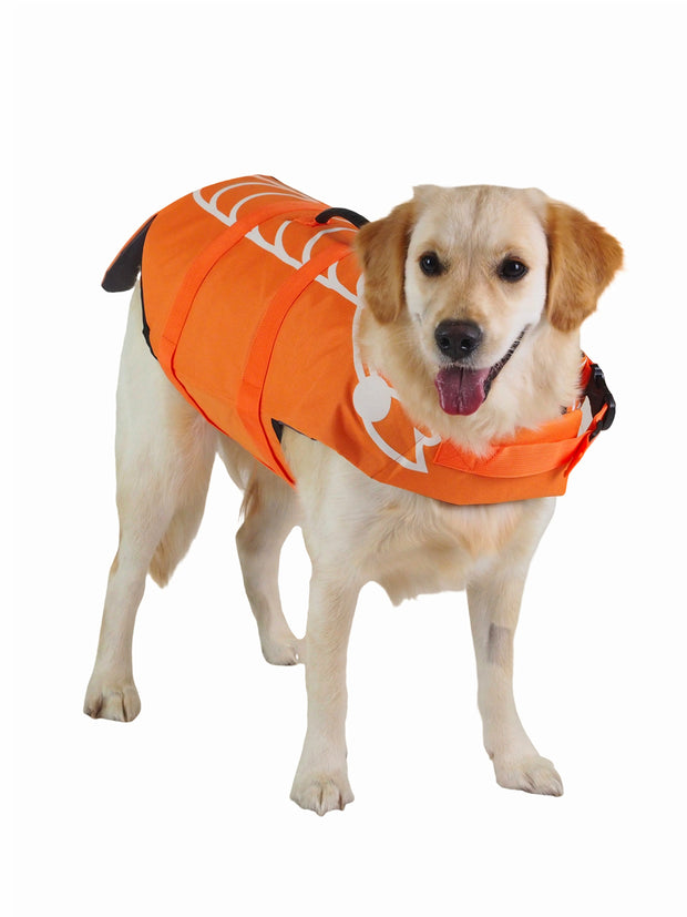 Reef Fish Dog Swim Vest and lifejacket