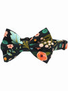 floral pattern dog bow tie