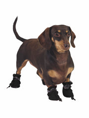 Funny adjustable dog paw protector shoes