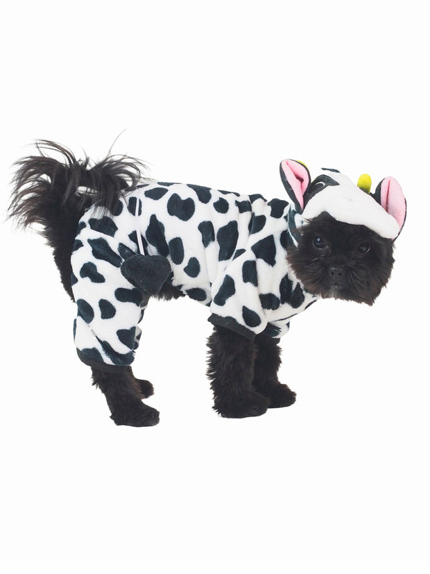 Spotty milk cow dog costume