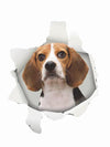Funny gifts for dog lovers beagle sticker