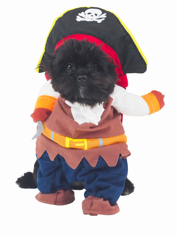 Little Capt'n Pirate Dog Halloween Costume