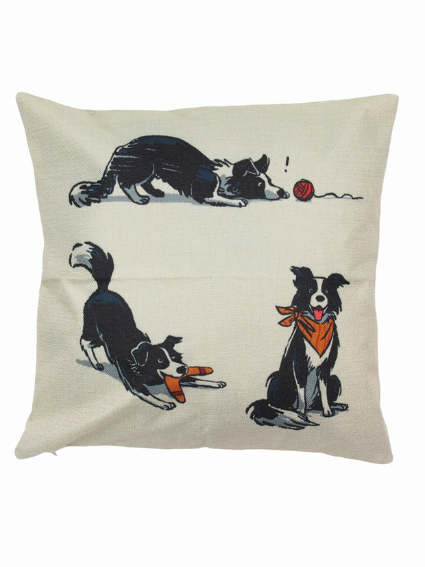 Quality dog themed pillow case and home decor