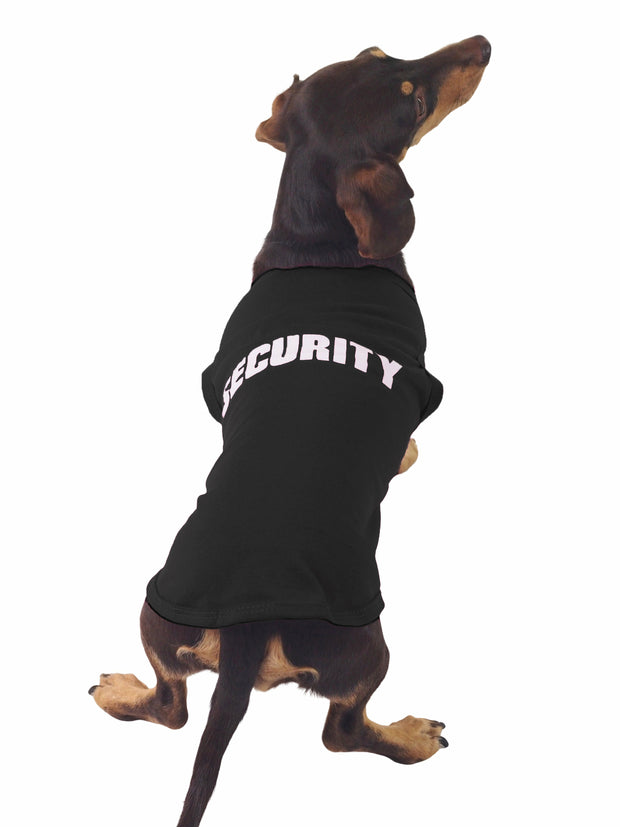Cute security dog shirt and apparel