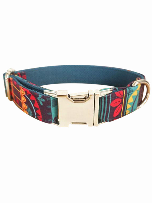 maya tribal dog collar