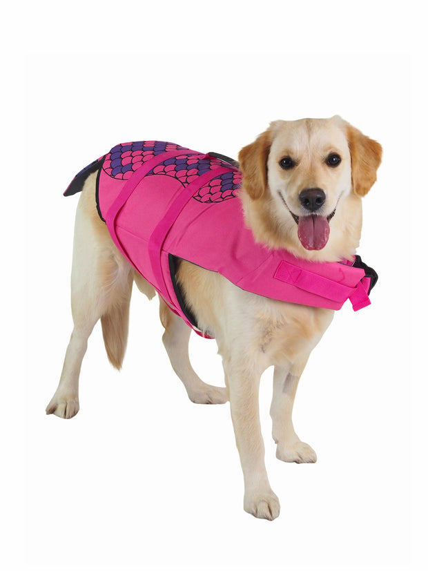 Mermaid Dog SwimVest Lifejacket