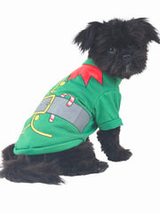 Elf! Christmas Dog Costume
