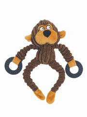 Monkeying Around Plush Dog Toy