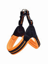 orange heavy duty dog harness