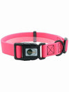 pink pvc dog collar online