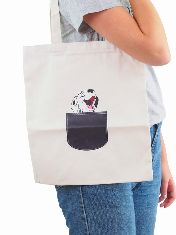 Pupper Canvas Tote Bag