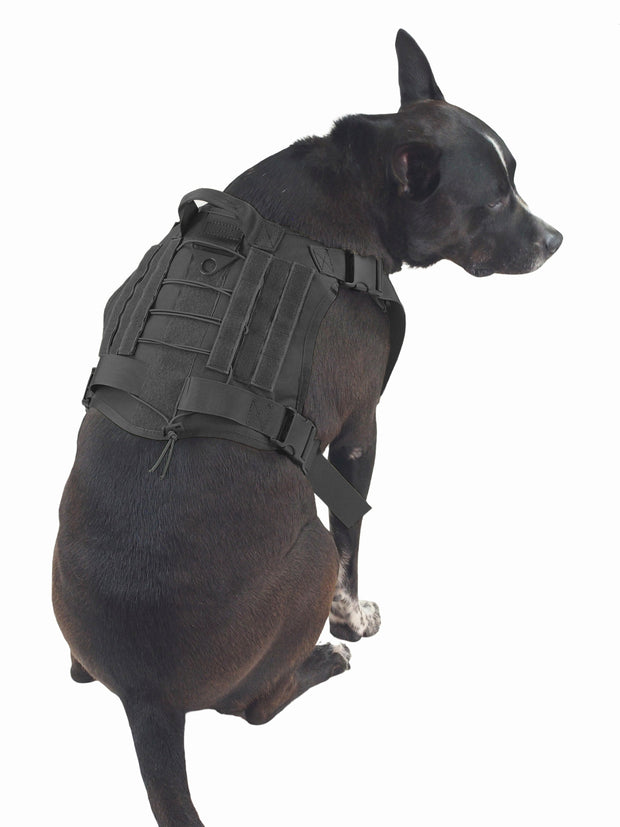 Durable Nylon Military Service Dog Harness