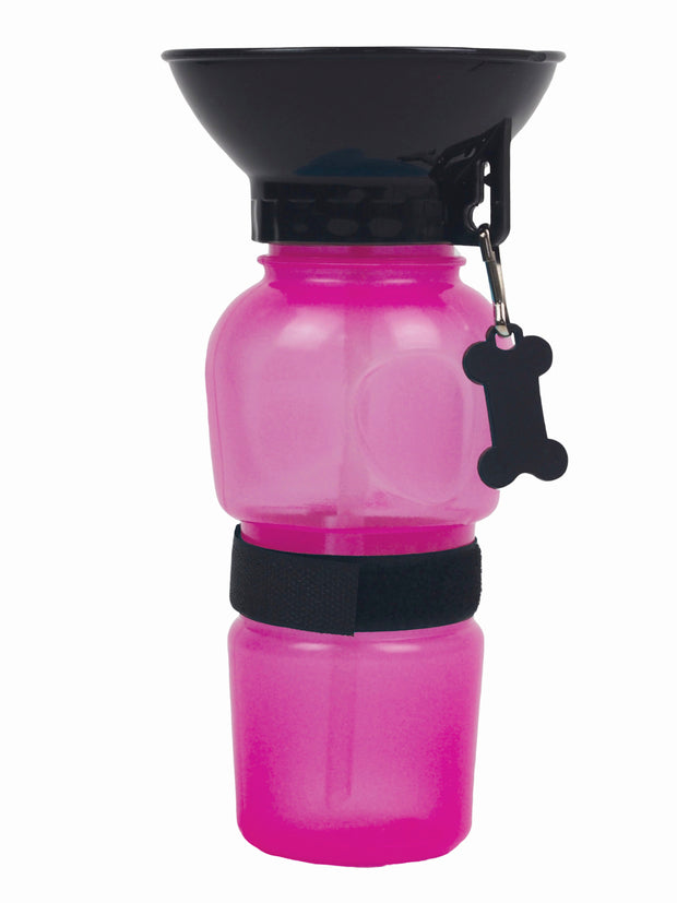 Dog water bottle for travelling
