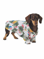 100% cotton cool Hawaiian shirt for dogs