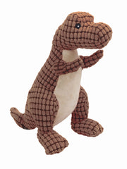 Cute t-rex dinosaur plush dog toy